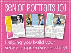 The Savvy Photographer: Senior Portrait Marketing by Jessica Feely