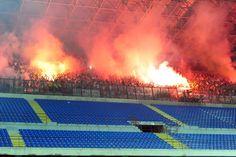 Evo jedna za ekipu :) Torca na Giuseppe Meazzi #Hajduk #TORCIDA #AjmoBijeliAle