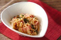ベーコンとエノキのポン酢蒸しのレシピ・作り方 - 簡単プロの料理レシピ | E・レシピ