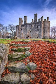 Huntly Castle in Aberdeenshire, Scotland.