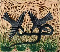 Pilipili Mulongoy, Untitled, 1955