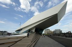 Eye Film Institute Netherlands by asli aydin, via Flickr