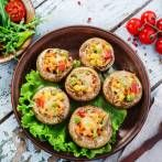 Enjoy our collection of online recipes from kitchens like yours. Browse breakfast recipes, lunch recipes, dinner recipes, dessert recipes and more. Stuffed Mushroom Caps, Stuffed Mushrooms, Cooking Tips, Cooking Recipes, Make Good Choices, Avocado Egg, Sushi, Healthy Lifestyle, Grilling