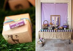 Gone Glamping! {Glamorous Camping Party} // Hostess with the Mostess®