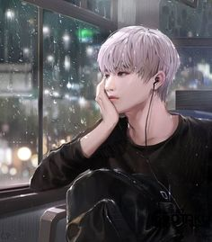 This looks like NCT Taeyong but idk Anime Korea, Korean Anime, Korean Art, Manga Boy, Manga Anime, K Pop, Bts Art, Ken Tokyo Ghoul, K Wallpaper