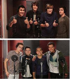 This is how far our boys have come ;) LET'S BE PROUD RUSHERS!