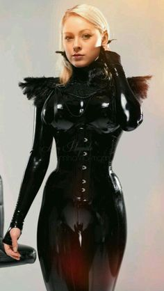 ladies in latex, vinyl, pvc and the like. images, unless otherwise noted, were taken from the. Latex Suit, Latex Dress, Sexy Latex, Fetish Fashion, Latex Fashion, Sexy Outfits, Girl Outfits, Janina, Latex Girls