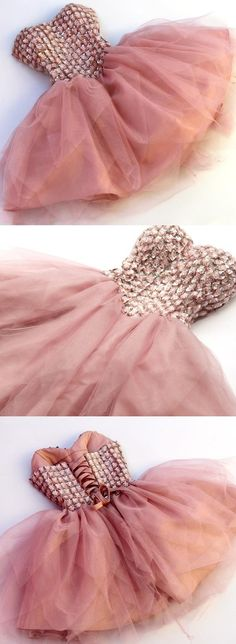 sweetheart homecoming dresses, blush homecoming dresses, tulle homecoming dresses, mini homecoming dresses