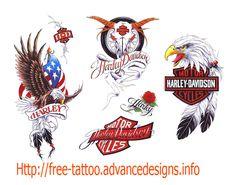 Harley Davidson Tattoo Design Ideas