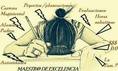 Estrés, fin de cursos, maestr@s
