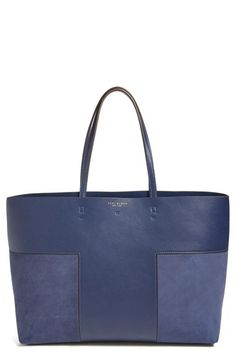 Tory Burch Tory Burch 'Block T' Leather Tote available at #Nordstrom