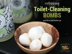 "If you want to keep your sink smelling fresh and your toilet sparkling between cleanings, then these DIY Cleaning Fizzers are the bomb! Fizzers or ""Cleaning Bombs"" are ready and willing to do the grunt..."