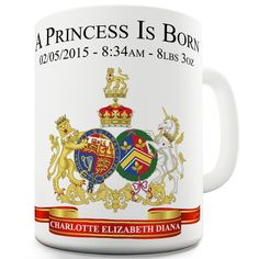 William & Kate Royal Baby George Novelty Mug Unique Coffee Mugs, Funny Coffee Mugs, Coffee Humor, Novelty Mugs, Novelty Print, Royal Wedding Harry, Love You Funny, Funny Cups, George Alexander Louis