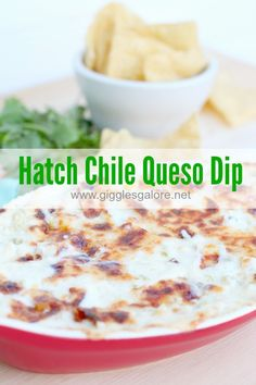Kick things up a notch at your next party with Hatch Chile Queso Dip. A combination of creamy Queso and a hearty dip this recipe will be a crowd pleaser! Hatch Recipe, Chile, Hatch Chili, Appetizer Recipes, Appetizers, Street Food, Mexican Food Recipes, Love Food, Dips