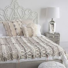 Moroccan Wedding Blanket | bedroom