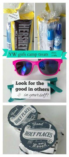 Girls Camp treats