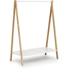 Simplify your home with Scandinavian designs like the Normann Copenhagen Toj Clothes Rack, designed for minimalism and efficiency. Grey Shelves, Metal Shelves, Kids Clothesline, Kids Clothing Rack, Clothes Rail, Hanging Rail, Modern Table, Modern Decor, Scandinavian Design