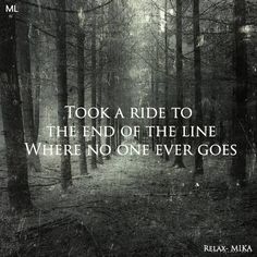 """lyrics from """"Relax, Take It Easy"""" by Mika"""