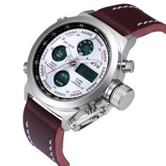 546ec41749b NORTH Chronograph LED Watch Outdoor   Military Watch