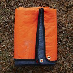 Waxed blanket orange600 ott6aj