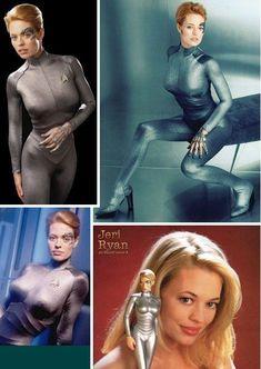 Seven of Nine, Tertiary Adjunct of Unimatrix Zero-One - My all-time favourite female Sci-Fi character Star Trek Fashion Guys, Fashion Casual, Urban Fashion Women, Grunge Fashion, Fashion Ideas, Retro Fashion, Trendy Fashion, Fashion Trends, Star Trek Cosplay