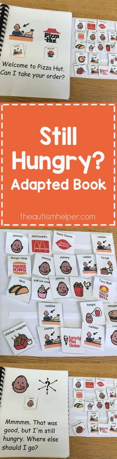 An adapted book about food? SOLD! Your students will LOVE this book!