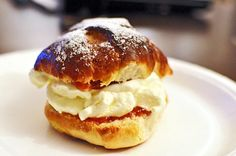 Over-indulgers delight: today, March 3, 2014, is Bolludagur, or bun day, an ostensibly lenten holiday in which all Icelanders are encouraged to eat their weight in vatnsdeigsbollur, cream-filled choux buns.