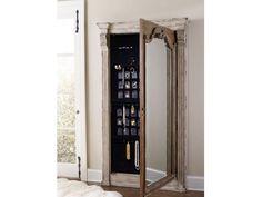 Chatelet Floor Mirror w/Jewelry Armoire Storage HS535150003