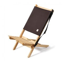 The Chelan Chair is perfect for camping and concerts, this folding chair is crafted in the USA features iconic Rugged Twill as a back rest and slatted wood in the seat.