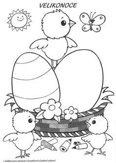 Výsledek obrázku pro velikonoční pracovní listy