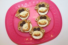 More Monkey snack and learning ideas!