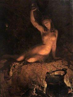 John Collier, An Incantation