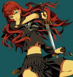Anime,аниме,the Twelve Kingdoms,Yoko nakajima Manga Girl, Anime Art Girl, Anime Manga, Anime Girls, Female Characters, Cartoon Characters, Flame Of Recca, The Twelve Kingdoms, Manga Games