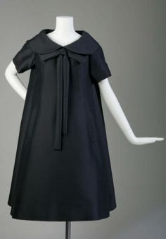 Afternoon dress, 1958. Mohair. Yves Saint Laurent for Christian Dior, France. Gift of Mrs. Frederick W. Specht. 1963.601
