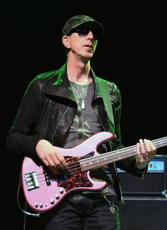 Pino Palladino Photos Photos - Bassist Pino Palladino of The Vanguard performs with D'Angelo at The Chelsea at The Cosmopolitan of Las Vegas on August 21, 2015 in Las Vegas, Nevada. - D'Angelo and The Vanguard in Concert at the Cosmopolitan of Las Vegas
