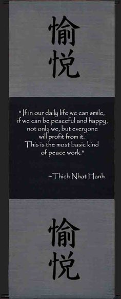 """If in our daily life we can..."" - Thich Nhat Hanh - inspired living"
