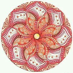Die 64 Besten Bilder Von Mandala Bunt Zentangle Muster