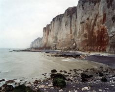 Senneville-sur-Fecamp, 7 November 2006 from the series  Rockfalls  36 x 45…
