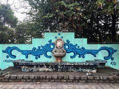 """""""Feliz em receber o convite do Xuim e Djan para participar do M.A.P.U. (Movimento Artístico Periférico Urbano), onde eu tive a honra de pintar esse…"""""""