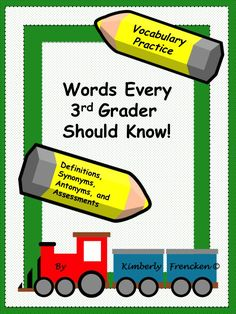Your students will be instantly engaged in each of these literacy activities designed to improve and expand vocabulary skills. Assessments are included!
