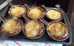 A healthier onion soup, made by Cheryl Forberg of The Biggest Loser, for Melissa's!