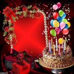 Happy birthday to u Birthday Wishes With Photo, Happy Birthday Cake Photo, Happy Birthday Wishes Cake, Birthday Photo Frame, Happy Birthday Frame, Happy Birthday Wallpaper, Happy Birthday Celebration, Happy Birthday Flower, Happy Birthday Pictures