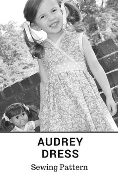 Audrey Dress Sewing Pattern! Sew Something Special with Peekaboo Pattern Shop!