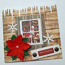 Papiernictvo - Vianočná pohľadnica - 8538267_ Decoupage, Christmas Cards, Frame, Home Decor, Christmas E Cards, Picture Frame, Decoration Home, Room Decor, Xmas Cards