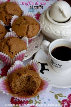 Muffin di riso al caffè