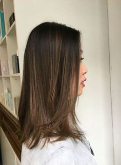 33 best balayage hairstyles for straight hair . Best Balayage Frisuren für glattes Haar …, … – Glattes Haar – 33 Best Balayage Hairstyles for Straight Hair …, … – Straight Hair – - Asian Balayage, Balayage Highlights, Hair Color Balayage, Highlights On Asian Hair, Balayage Hairstyle, Balayage Bob, Subtle Highlights, Balayage Straight Hair, Straight Black Hair