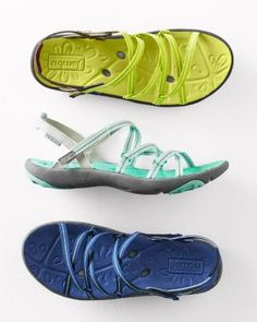 Jambu Hydro Terra Water Shoes (Garnet Hill)    I love the aqua colored ones!