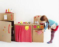 Crafty Cardboard | House & Home ** feito de papelão