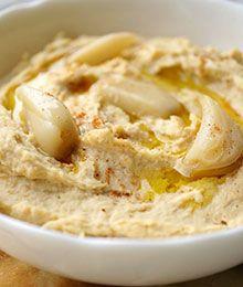 Dr. Beth's Roasted Garlic Hummus