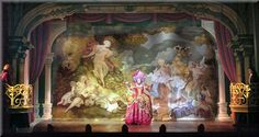 Scarlet Pimpernel Scenery Design